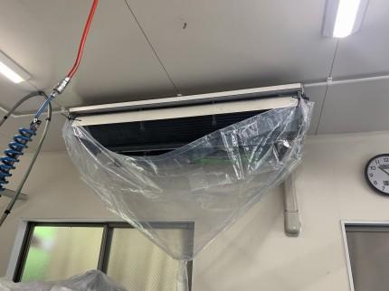 鹿児島市 業務用エアコンクリーニング