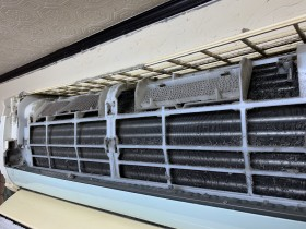年末 鹿児島市 おそうじ機能付きエアコンクリーニング