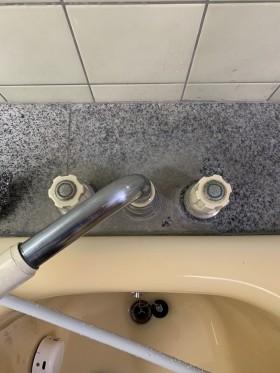 鹿児島市 お風呂掃除 水アカ