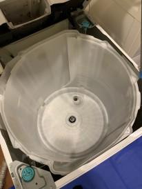 鹿児島市 洗濯槽 分解クリーニング