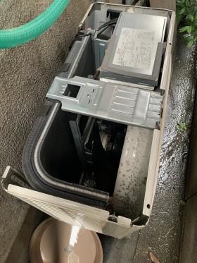 鹿児島市 室外機クリーニング