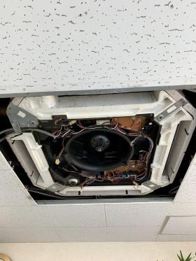 鹿児島市 業務用エアコンクリーニング エアコン掃除