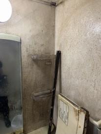 鹿児島市 浴室 カビ汚れ
