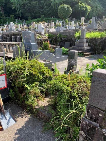 鹿児島市 お墓のお掃除
